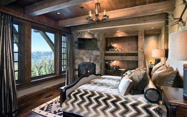 Top 70 Best Bedroom Lighting Ideas Light Fixture Designs In 2020 Country Bedroom Design Rustic Country Bedrooms Rustic Bedroom