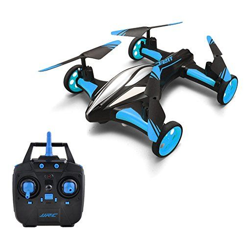 Flying Car RC Quadcopter Drone GEEDIAR Headless Remote Control Car and Quadcopter Drone With Night Flying ** You can find more details by visiting the image link.Note:It is affiliate link to Amazon.