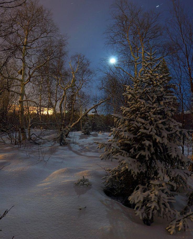 Голубая луна (панорама)