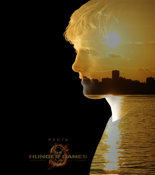 """Not bright orange. But soft. Like the sunset."": Catch Fire, Peeta Josh, Favors, Games Obsession, Hunger Games, Peeta Mellark, Bright Orange, Games Trilogy, Peeta Melark"