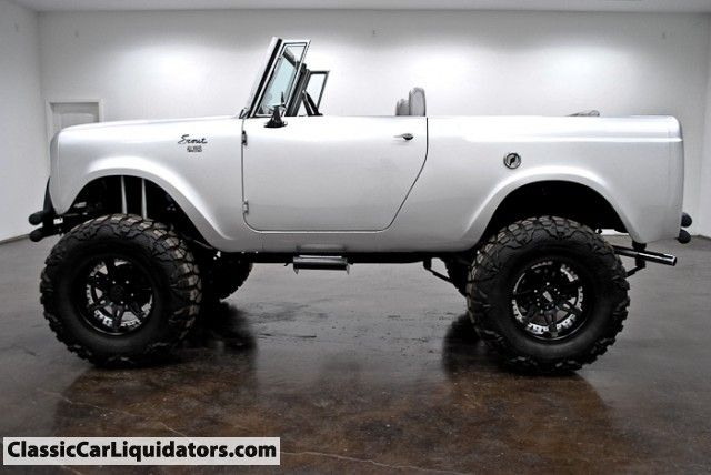 Classic Car Liquidators 1965 International Scout 4x4 Full Custom - $24,999. I want this!!!!!