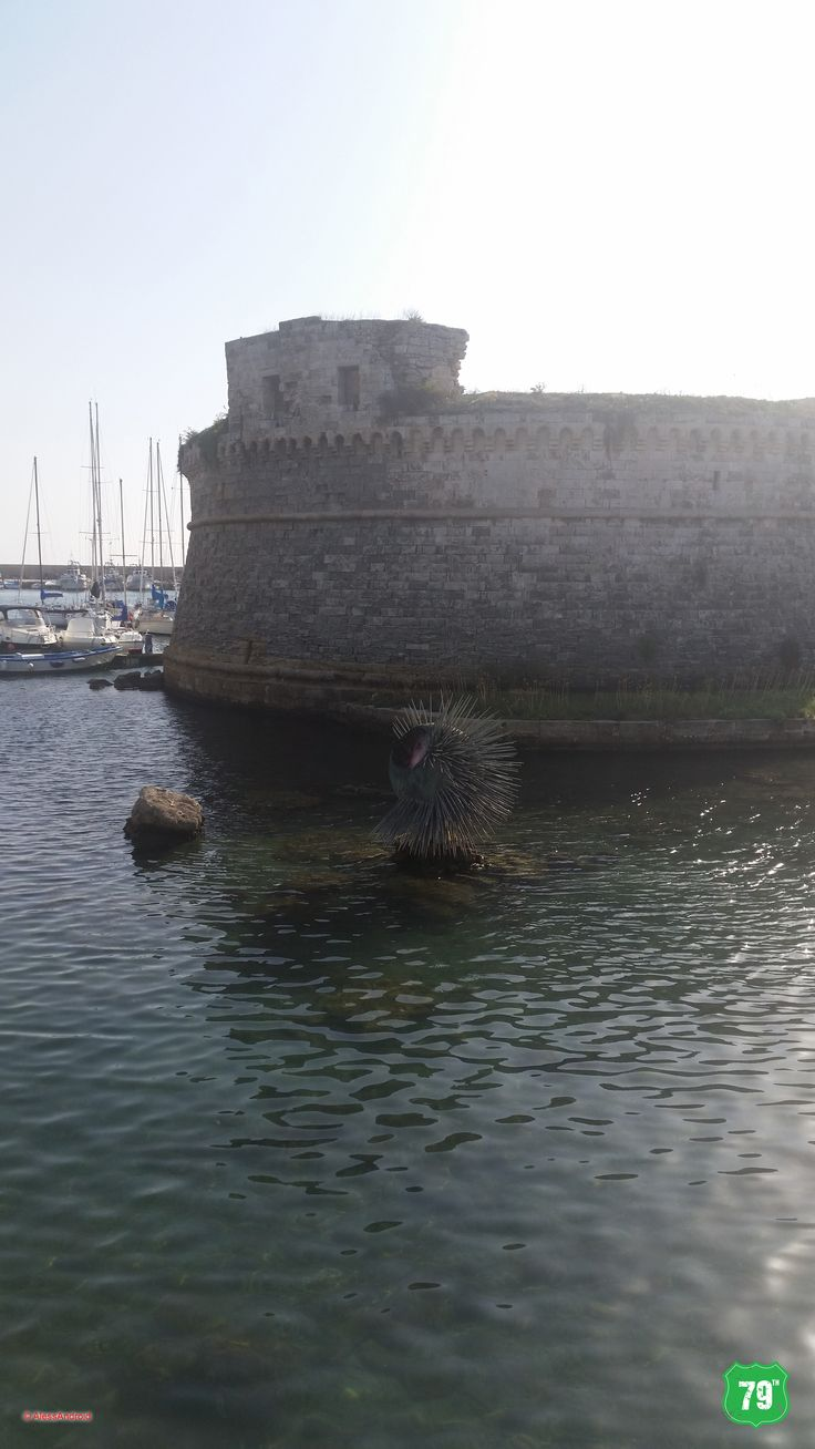 Castello Angioino #Gallipoli #Salento #Italia #Puglia #Italy #Travel #Viaggiare #79thAvenue