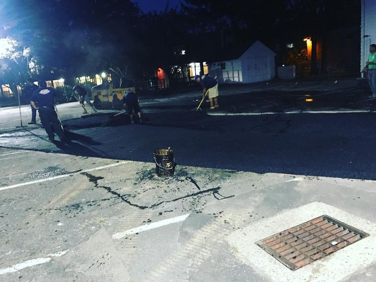 After hours...because we don't need cars driving on unfinished work. . . . . . . . . . #Norwalk #masonry #contractor #electrician #ironworker #grind #contractors #lineman #remodeling #constructionworker #constructionlife #construction #realtor #homeowner #decor #homedecor #interior #welder #renovation #carpentry #house #safety
