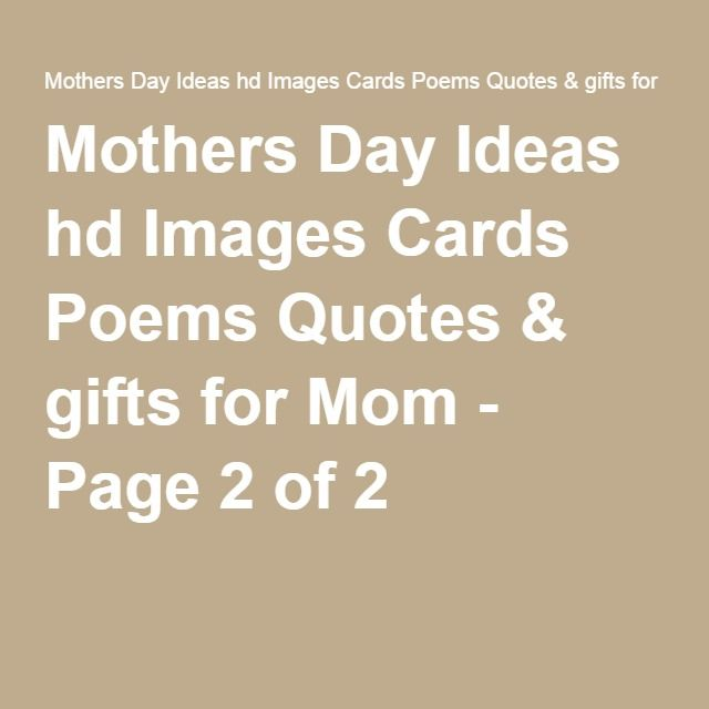 17 Best images about Mothers day messeges on Pinterest ...