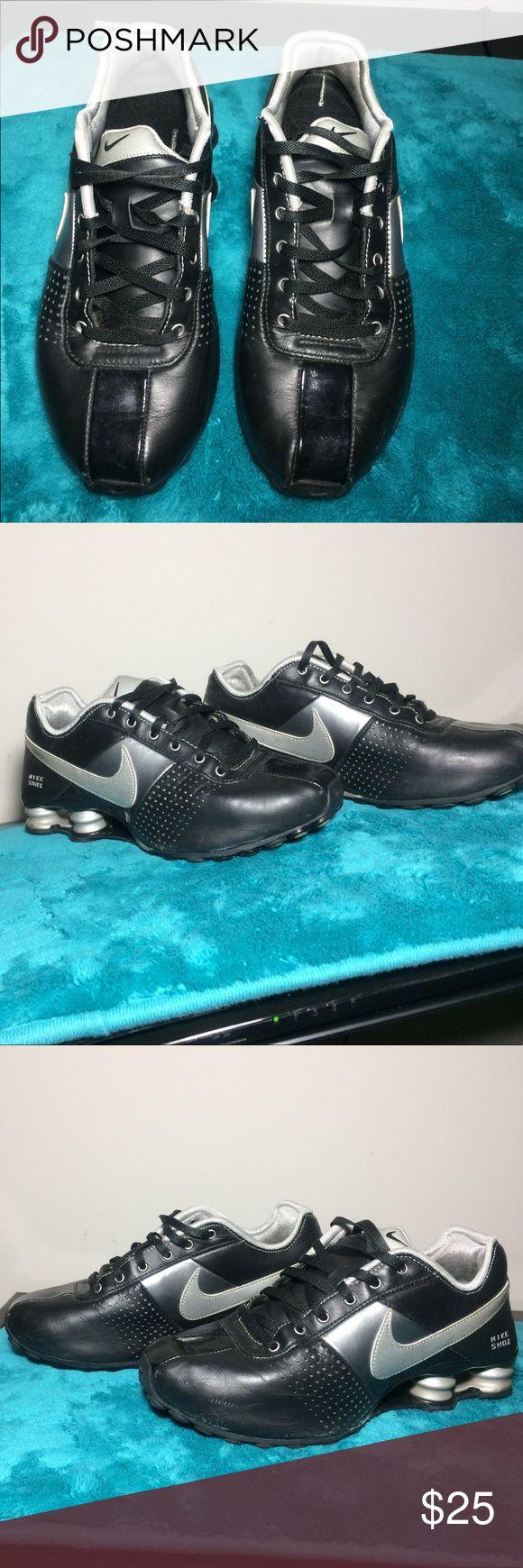 Black nike shox Size 7 Nike Shoes Athletic Shoes