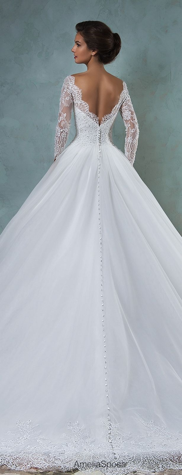 http://rubies.work/0495-sapphire-ring/ Amelia Sposa 2016 Wedding Dress | Belle The Magazine