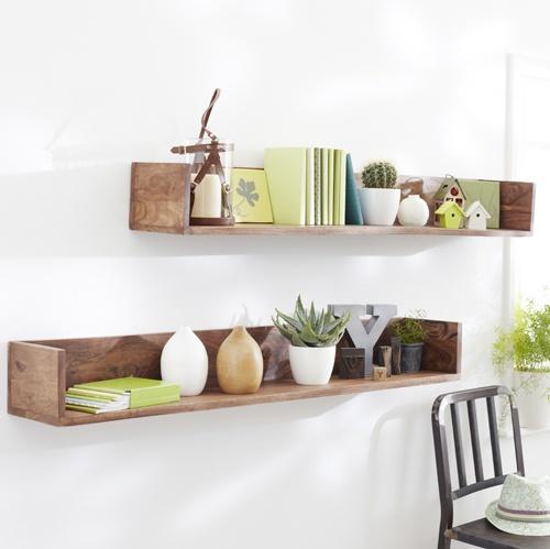 easy smart home made shelves