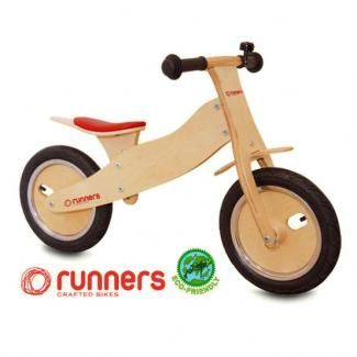 Runners Bike Balance Bike, Canada. Great design with comfy pneumatic tires and padded seat. $139.00