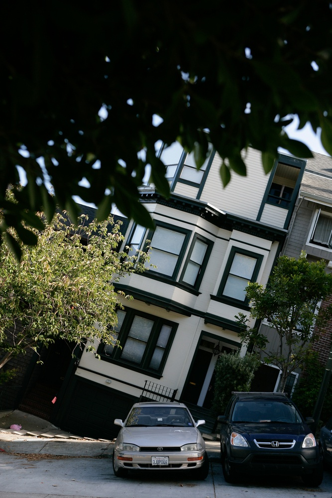 """""""I don't know of any other city where you can walk through so many culturally diverse neighborhoods, and you're never out of sight of the wild hills. Nature is very close here.""""~Gary Snyder #mapsme #sanfrancisco #funny #adventure #house #cars #quote"""