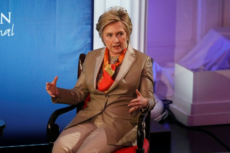 "Former Democratic presidential candidate Hillary Clinton said she is now ""part of the resistance"" during the Women for Women International 2017 annual luncheon."