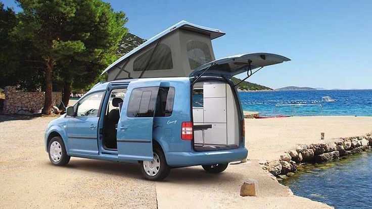 32 best vw caddy camper images on pinterest mini camper. Black Bedroom Furniture Sets. Home Design Ideas
