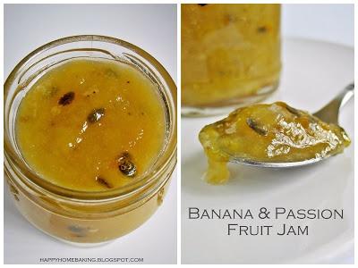 Banana & Passion Fruit Jam