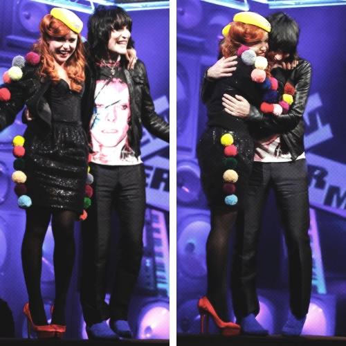 Paloma Faith and Noel Fielding - if Noel Fielding and Lliana Bird break up, these two should totally go out!