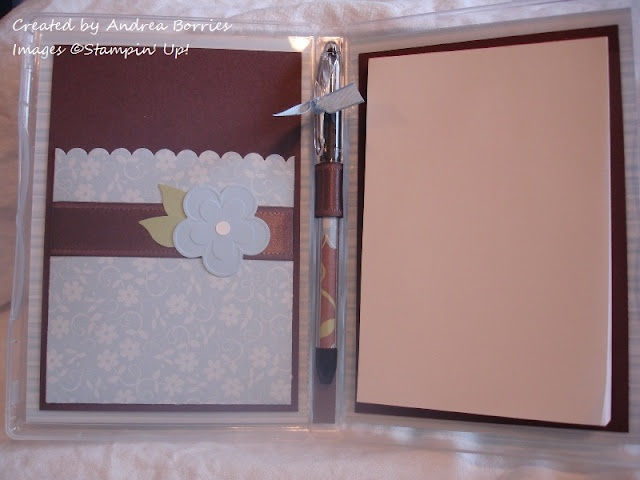Altered DVD case notepad holder- inside view.  Add a gift card or money. Can a post it note pad be included?  See the tutorial here:  http://stacyvaughnblog.blogspot.com/2012/04/dvd-coloring-case.html?spref=fb#  and measurements here: http://snippetsbyandrea.blogspot.com/2012/01/dvd-case-notepad-holder.html#  what a cool idea