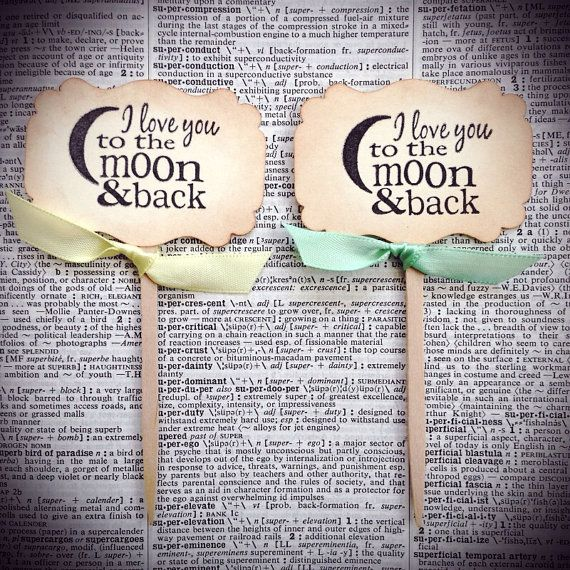 Baby Shower cupcake toppers, Wedding cupcake toppers, Love you to the moon and back on Etsy, $9.00