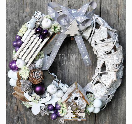 wianek dekoracyjny Świąteczne Dekoracje