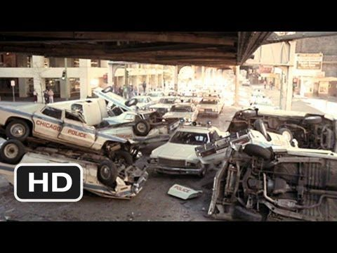 Chased by the Cops - The Blues Brothers (7/9) Movie CLIP (1980) HD - YouTube - Largest police chase in cinematic history up to that time.