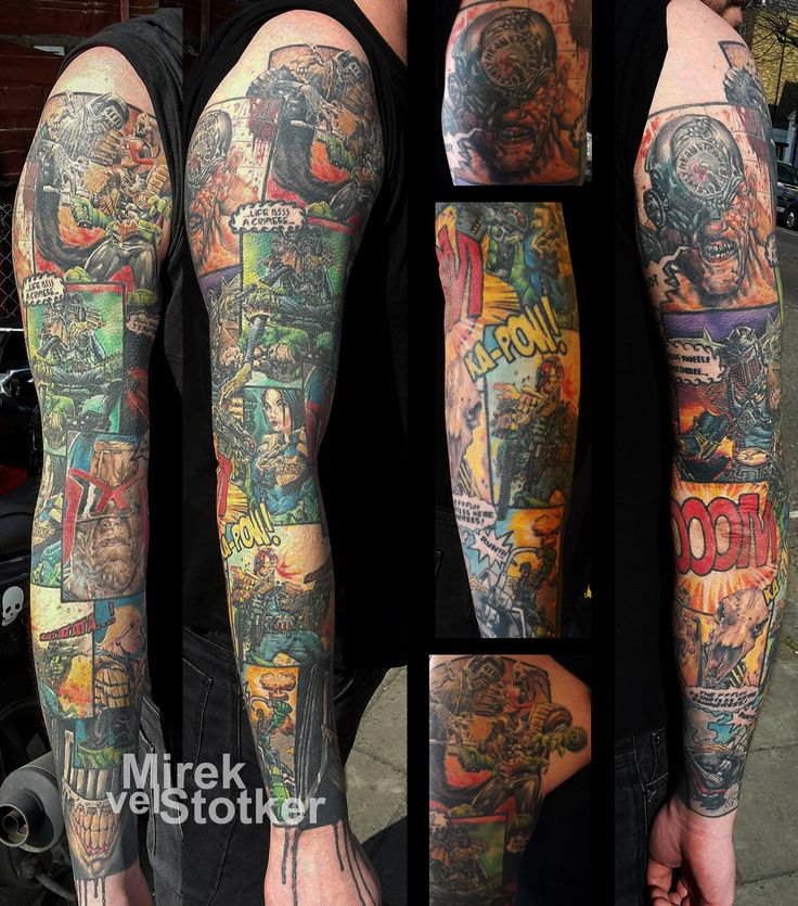 12 Best Colour Tattoos By Mirek Vel Stotker Images On