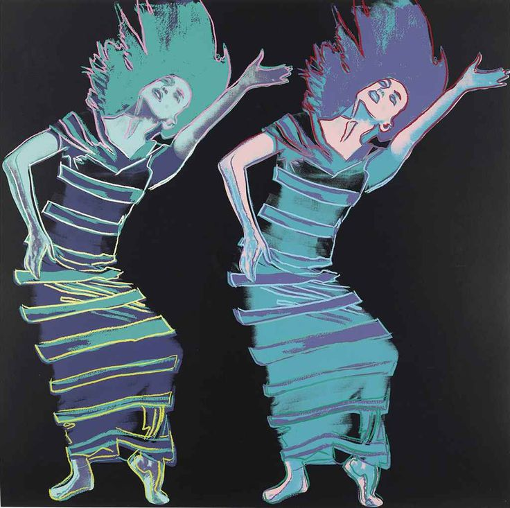 Andy Warhol (1928-1987) Satyric Festival Song, from Martha Graham