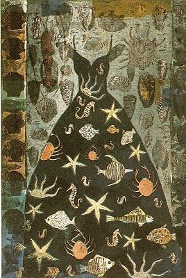 Venus Dress by Kirsi Neuvonen -Printmaker from Finland