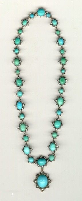 vintage-turquoise-jewelry. I'm in love with this
