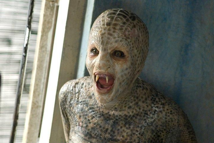 Mallika Sherawat In Hisss Monster Makeup And Practical Effects Props