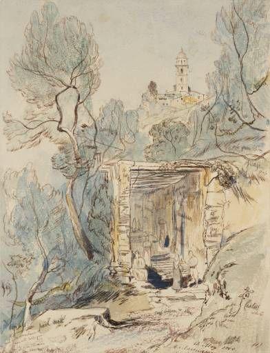 Edward Lear -  Saint Maria Marinasco - 1860
