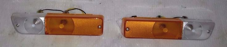 Datsun/Nissan  (B110/120) 1200  front bumper turn lights PAIR (LH+RH) #AftermarketProducts