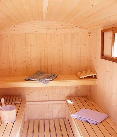 sauna wagon!