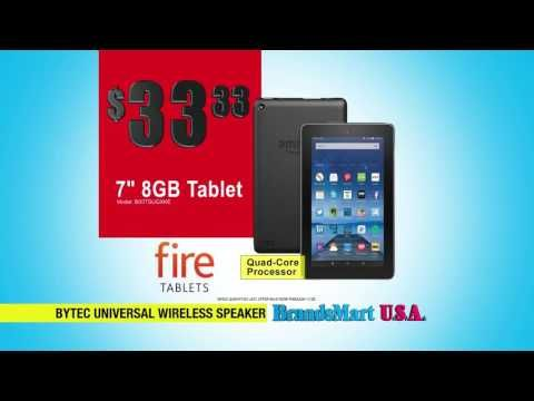 """Cyber Monday Sale: TVs & Electronics  This Amazon Fire 7"""" Quad-Core Tablet is a low $33.33   Or get a BLU 4GB Unlocked smart phone for only $49.88   Turn up the sound with this 15"""" Portable PA Speaker for $99.88   Or take home this Samsung 32"""" inch LED HDTV for $128.88   Don't miss the Cyber Monday Sale TODAY"""