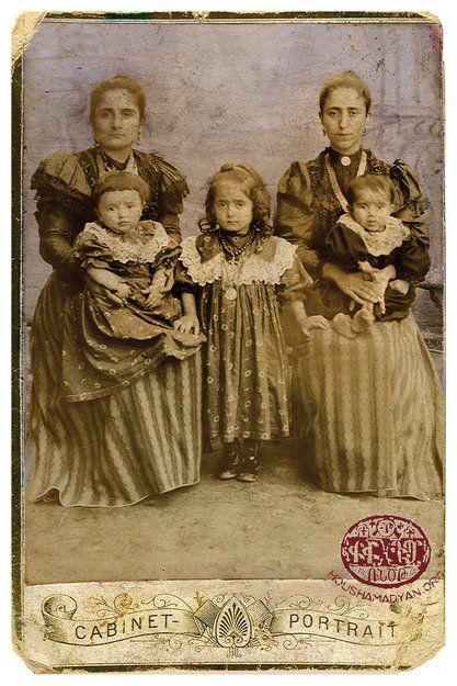 Adabazar, Ermeni kadın ve çocuklar