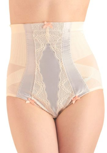 Early Modern Elegance Contouring Undies. Well, if you're gonna wear some shapewear, these are pretty darn cute!