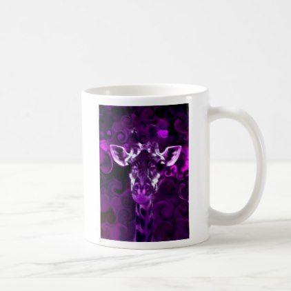 #Closeup Purple Coffee Mug - #drinkware #cool #special