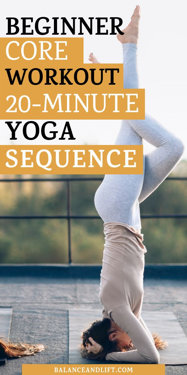 Beginner Core Workout: 20-Minute Yoga Workout for Killer Abs -