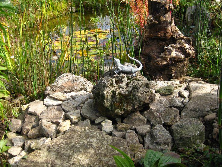 19 besten Gartenteich Bilder auf Pinterest Bougainvillea, Garten - gartenteich mit brucke und bachlauf