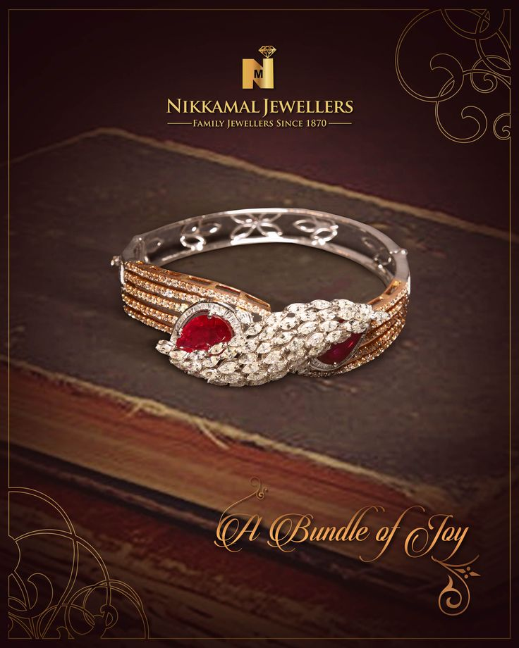 A Bundle of Joy for Every Women!! Visit us at Nikkamal Jewellers Ludhiana & Jalandhar Showrooms to place your order.