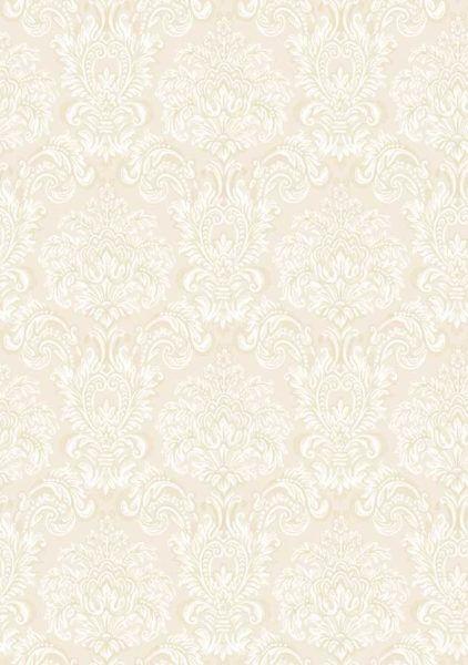 Carta da parati Damascato Bianco effetto tessuto vernici