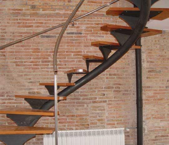 Escaleras met licas interiores para edificios p blicos - Escaleras metalicas interiores ...