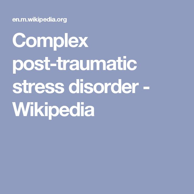 Stress Test Wiki: 1000+ Ideas About Complex Ptsd On Pinterest