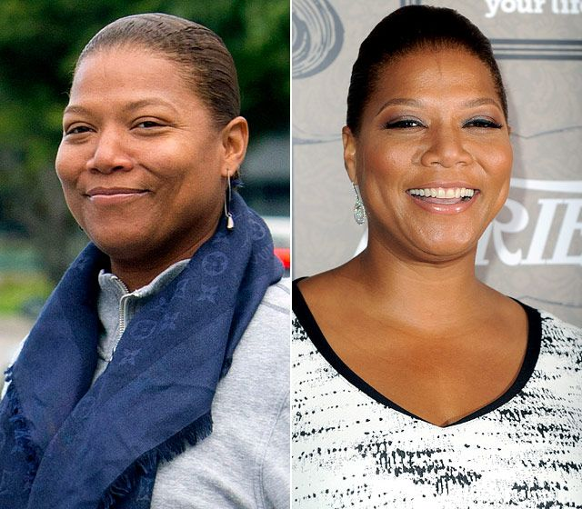 Stars Without Makeup: Queen Latifah
