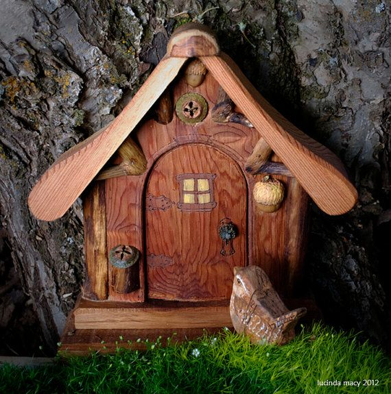 116 best images about hobbit tree houses on pinterest for Rustic fairy door