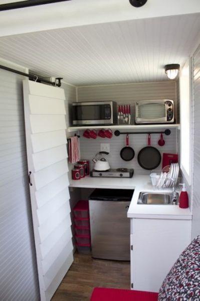 Tiny Home On Wheels Kitchen Modern