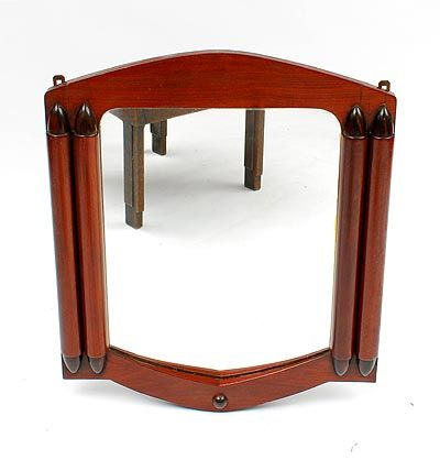 Wooden wall mirror in the style of Hildo Krop designer execution unknown / the Netherlands ca.1930