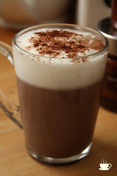 chocolat chaud très mousseux (pour la recette, cliquez sur l'image)