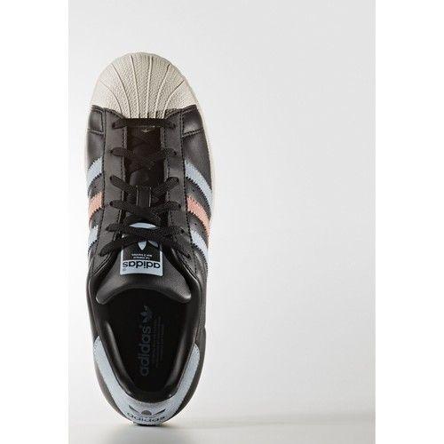 Chaussures Femme Baskets basses adidas Originals Chaussure Superstar Noir / Rose