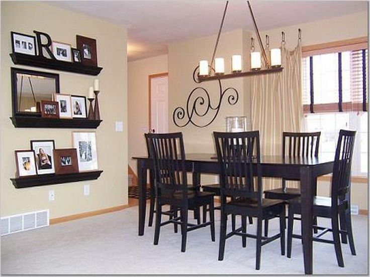 Dining Room Walls Decorating Ideas