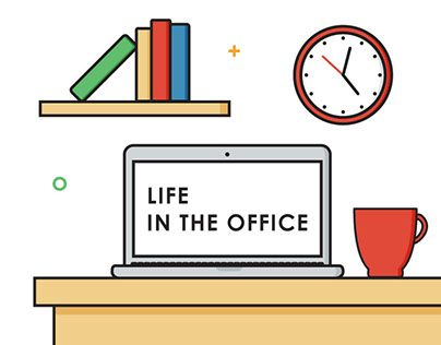"Check out new work on my @Behance portfolio: ""Life in the Office"" http://be.net/gallery/43250115/Life-in-the-Office"