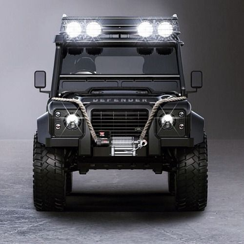 Ok I want one. -Land Rover Defender 110 Td4 Sw Se Extreme adventure in Spectre Edition.