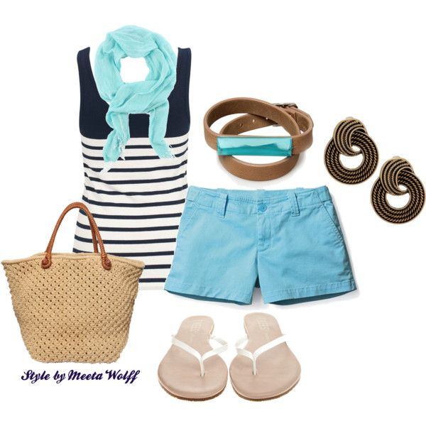 Picnic by the Fjord, created by Meeta Wolff: Outfit