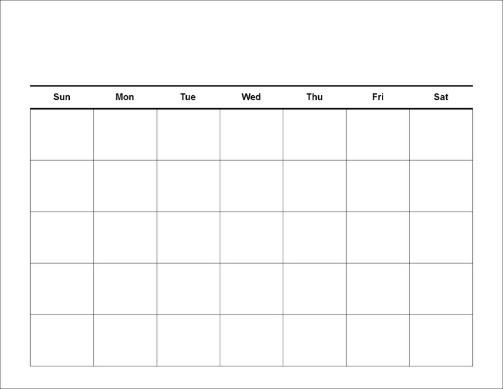 Free Printable Schedule | Blank Calendar - Printable 2013 Calendar Templates